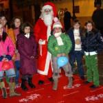 babbo Natale tra i bambini